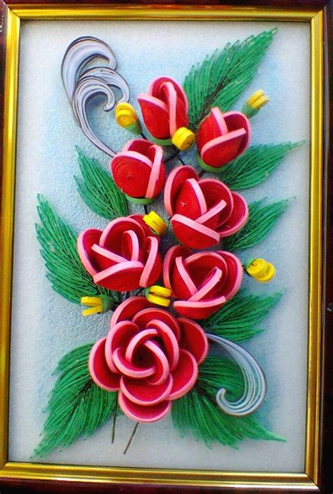 Paper Quilling Roses - 84 best images about on quilling