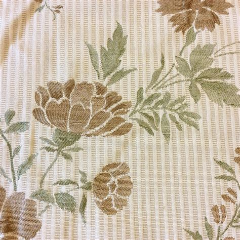 asian inspired upholstery fabric tapestry asian style flower magnificent pale green striped