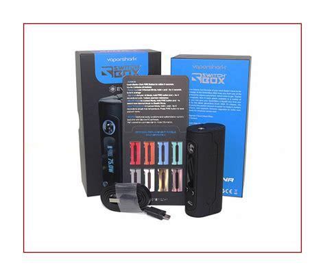 Switchbox Vaporshark Dna75 vaporshark switchbox dna 75 review spinfuel vape
