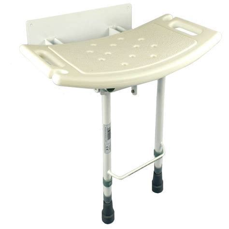 wall mounted adjustable l wall mounted folding fold down shower seat