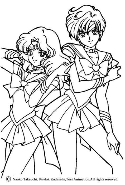 Sailor Moon Warriors Coloring Pages Hellokids Com Sailor Moon Princess Coloring Pages Printable