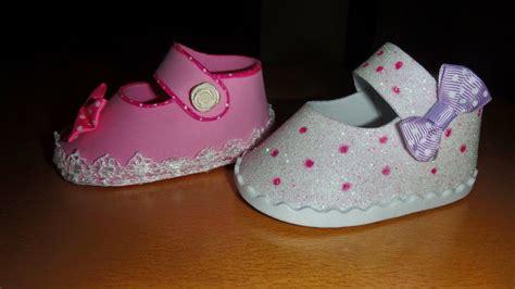 zpatitos para baby shower en goma eva las manualidades elena y sus manualidades mas zapatillas y zapatos de goma