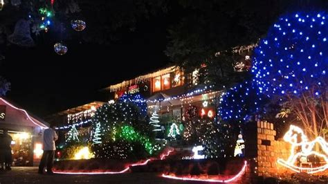 christmas lights set the hills shire sparkling with