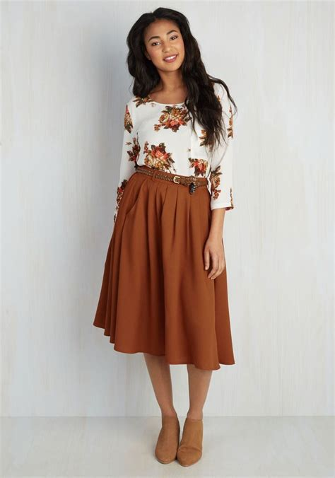 best casual clothes for women in yheir foties 25 best ideas about orange skirt on pinterest orange