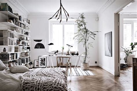Visbeen by Spacious Scandinavian Apartment Bedroom Workplace