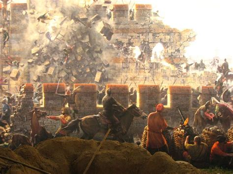 constantinople ottoman ottoman turks besieging constantinople byzantine war art