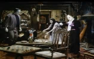 munsters in color inside the munster house screen of all interiors and