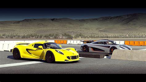 Forza 6 Koenigsegg One 1 Vs Hennessey Venom Gt Drag