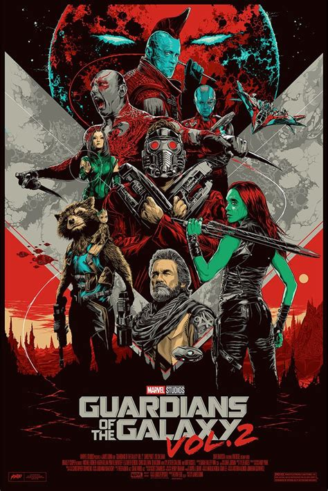 Best Marvel Movies by Guardians Of The Galaxy Vol 2 By Ken Taylor Mondo