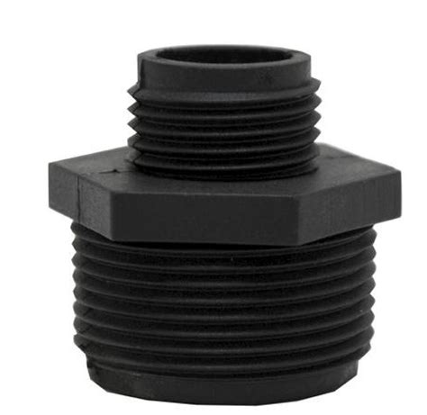 Garden Hose To 1 4 Adapter Sump Garden Hose Adapter Abs Plastic 1 1 4 Quot Mip X