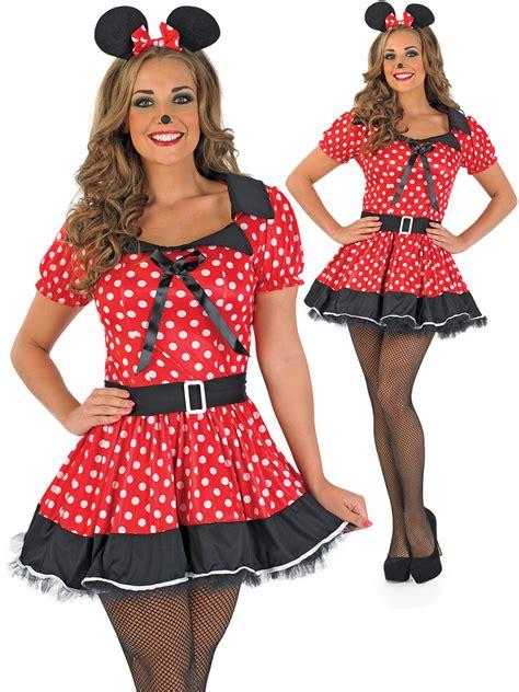 Dress Katun Mini Mouse Import mouse costume adults mini fancy dress womens book week day ebay