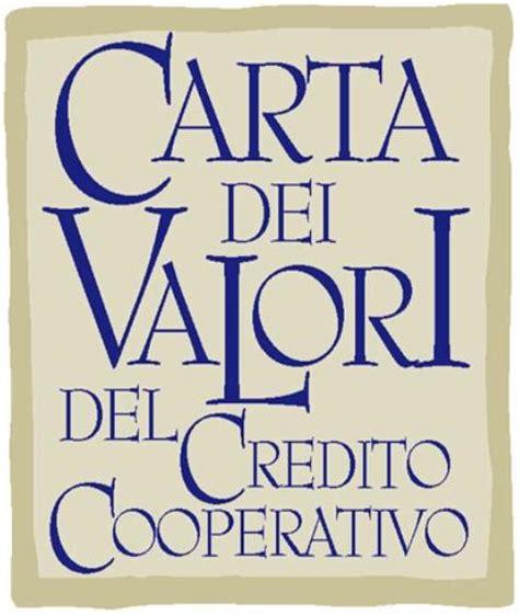 di credito cooperativo san rotondo carta dei valori della di credito cooperativo bcc