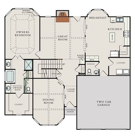 drhorton floor plans floorplans the bernhardt by dr