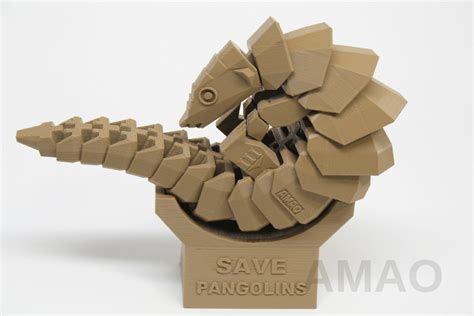 Cool House Design by 3d Printable Pangolin Set To Raise Awareness Of This