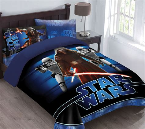 starwars bed star wars the force awakens comforter set with fitted sheet