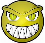 Scary Smiley Face  ClipArt Best