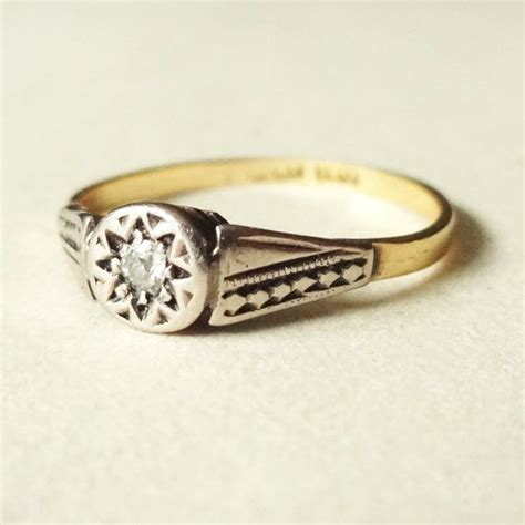 tribal pattern rings antique diamond solitaire engagement ring tribal aztec