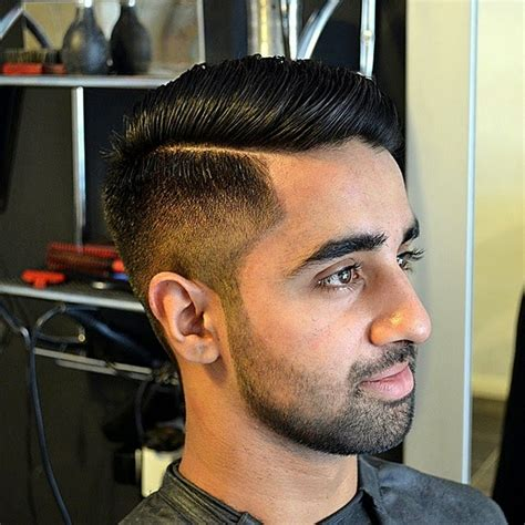 pictures if part haircut mens side part hairstyle