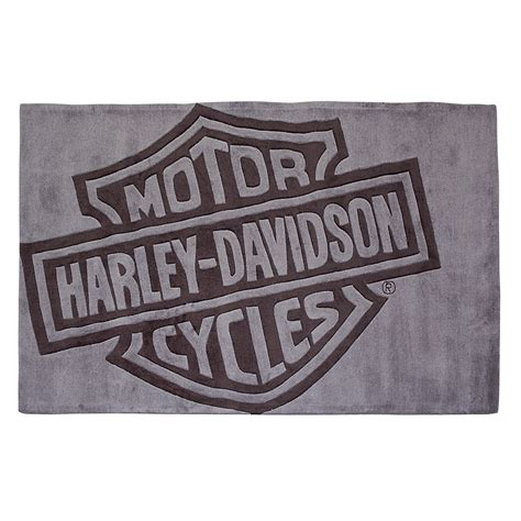 Harley Davidson Area Rugs Harley Davidson H D Bar Shield Large Area Rug 8 X 5
