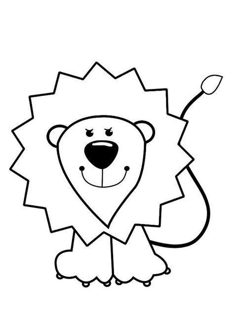 imagenes para dibujar un leon dibujo para colorear le 243 n img 29422