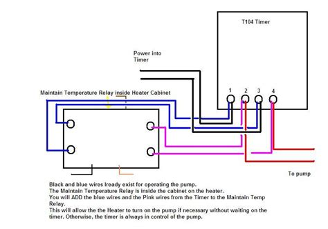 intermatic t104p pool timer wiring diagram get free