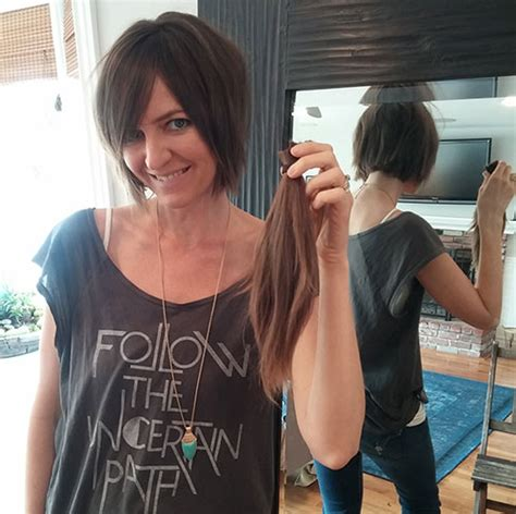 why did penney cut her hair why did penny cut her hair off 17 best images about