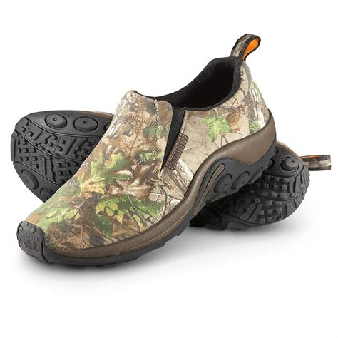 camo shoes s merrell camo jungle mocs realtree ultra green