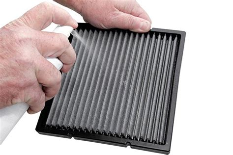 Clean Cabin Air Filter by K N Cabin Filter Refresher Kit Free Shipping On Kn Cabin