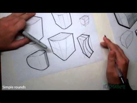 sketchbook rendering tutorial sketching tutorial how to draw simple rounds rendering