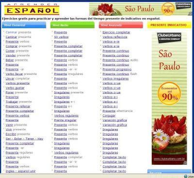 ejercicios para aprender espa ol ejercicios de aprender espa 241 ol sitio web profesor gustavo balc 225 zar