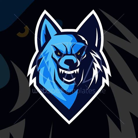 webspelltemplates de webspell templatesvector wolf clan