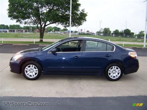 nissan blue car 2009 nissan altima 2 5 s in navy blue metallic 488789