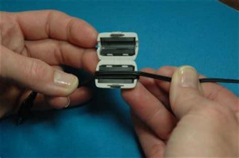 Headset Ferrite Bead ferrite installation