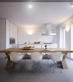 Kitchen Diner Tables White Modern Dining Chairs Interior Design Ideas