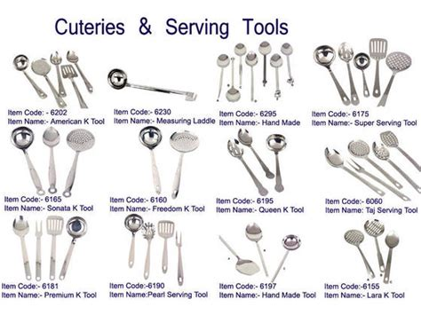 different types of kitchen knives and their uses ec21 mayur exports sell stainless steel cutleries