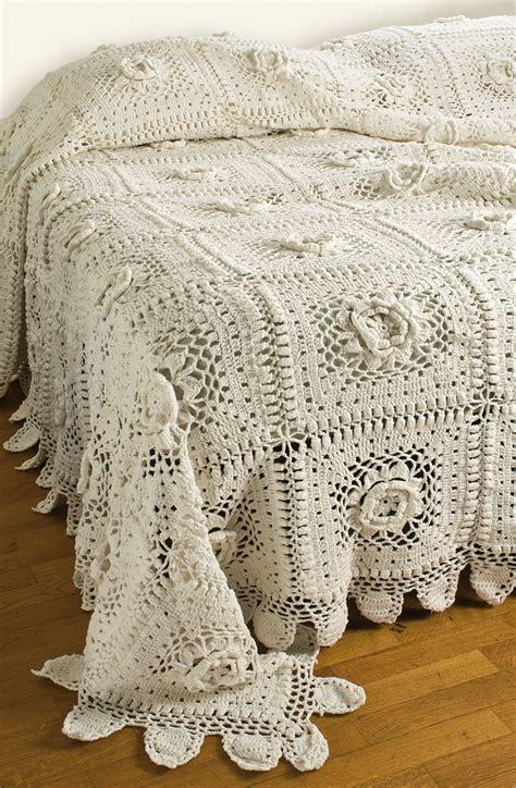 Copriletto Cotone by Copriletto Matrimoniale Cotone Uncinetto Crochet Bianco