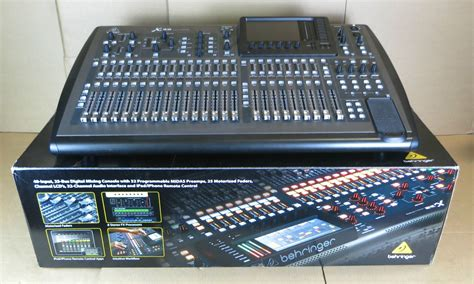 digital audio console behringer x32 32 channel 40 input professional digital