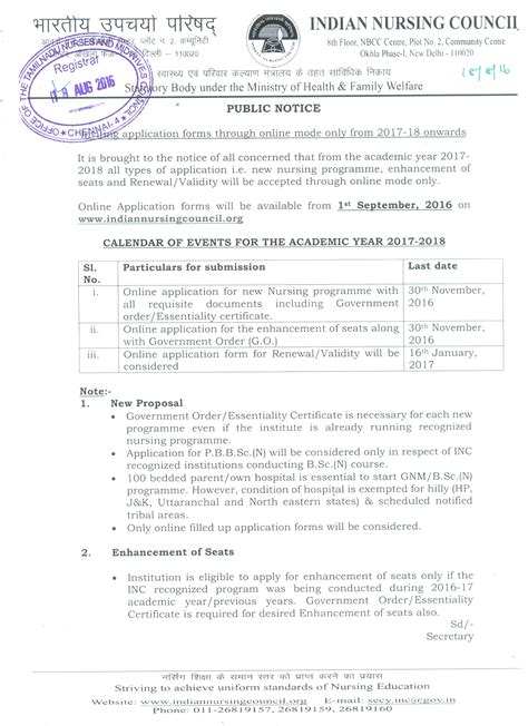 Offer Letter In Tamil Tamil Nadu Nurses Midwives Council