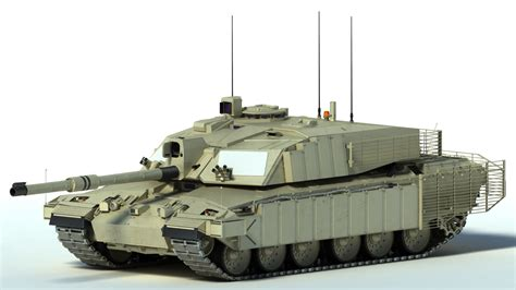 challenger 2 tank model challenger 2 mbt tank 3d model