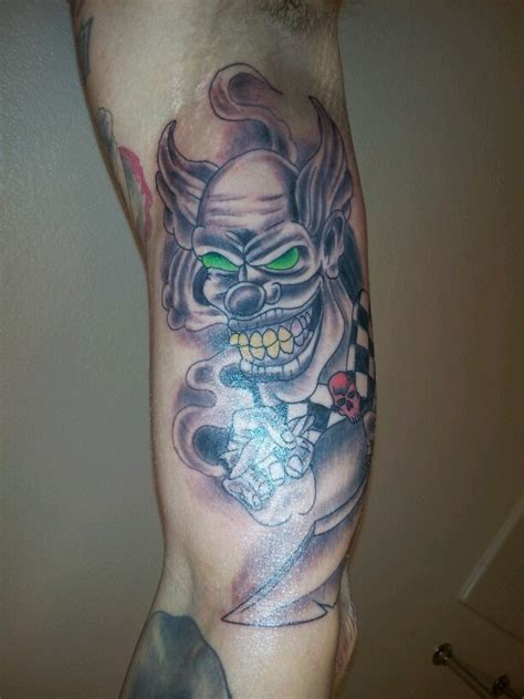 evil joker tattoo meaning 33 besten clown tattoos bilder auf pinterest clown