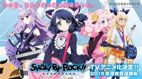 New Ultraman Tokusatsu Japanese Tv Show Anime サンリオとフリュー 音楽ゲームアプリ show by rock を2015年にtvアニメ化決定 サンリオ発のバンドをテーマにしたキャラプロジェクト social info