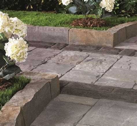 Paver Collection Decorative Edge From Belgard Patio Paver Edging