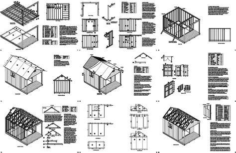 bobbs 20 x 14 shed plans