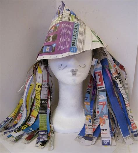 Hats Out Of Paper - paper hat how to make a paper hat costumes