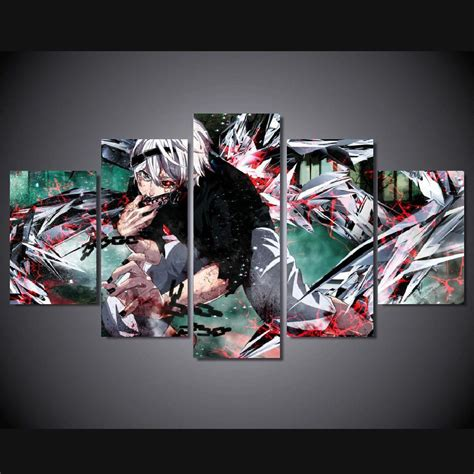 Tas Anime Tokyo Ghoul Kaneki Ken Ransel Canvas canvas poster picture more detailed picture about 5