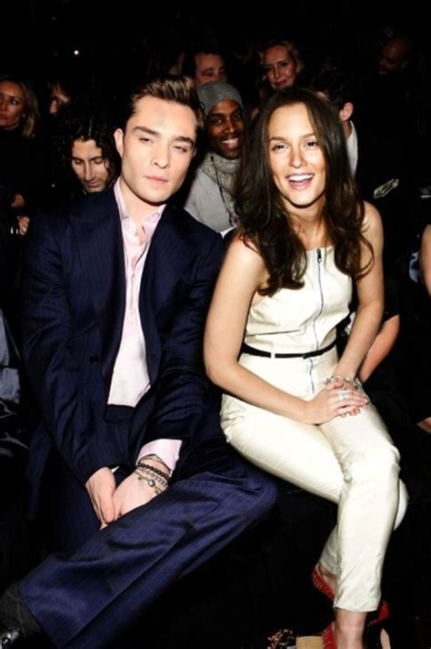 leighton meester and ed westwick leighton meester and ed westwick hair styles pinterest