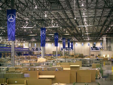 mercedes parts distribution center new parts distribution center kss architects