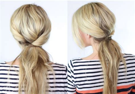 hairstyles every girl should know twisted ponytail her beauty