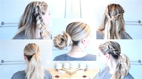 comfortable hairstyles for giving birth 5 easy styles for long unwashed hair nesting story