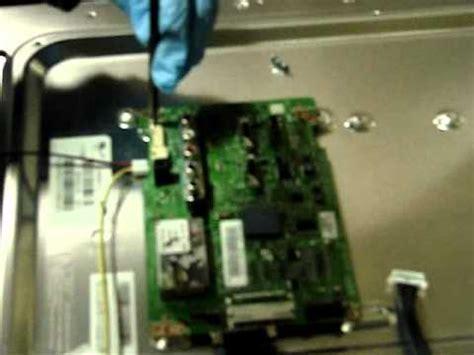 Ic Gambar Tv Samsung samsung lcd tv repair replacing the board